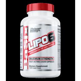 Жиросжигатель Nutrex Lipo 6 120 капсул